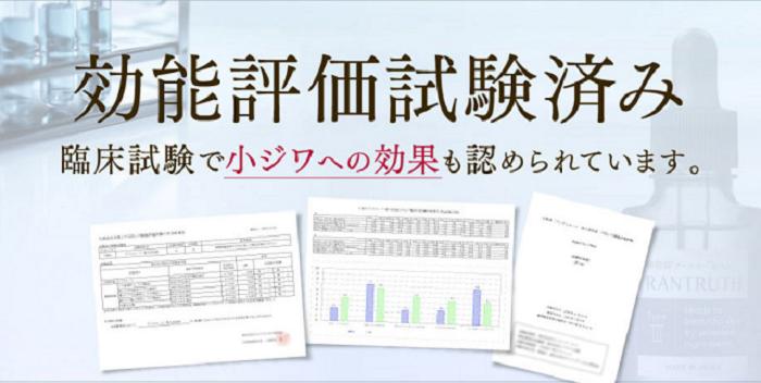 Efficacy evaluation test
