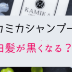 Kamika shampoo