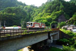 Sanriku Railway walking