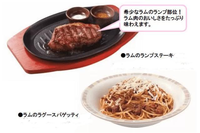 Saizeriya lamb rump steak