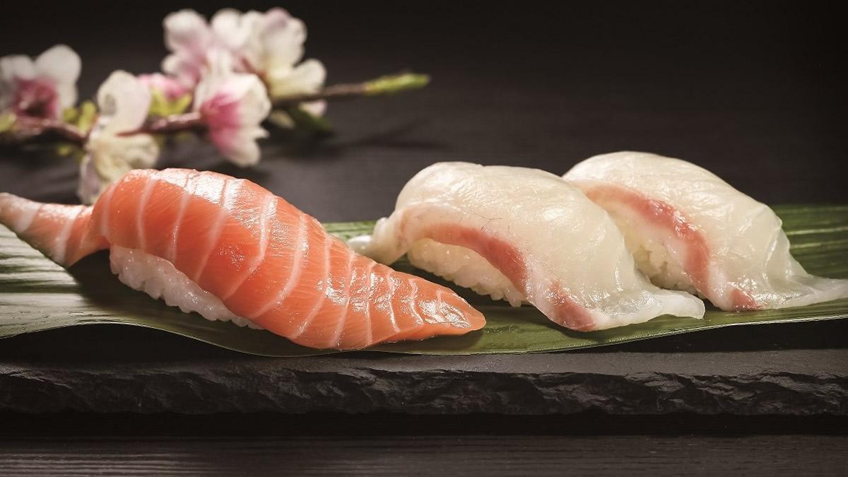 Kura Sushi Mango Parfait