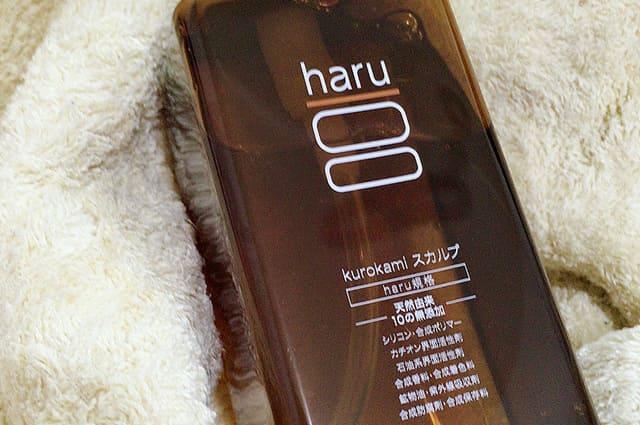 haru aging care shampoo